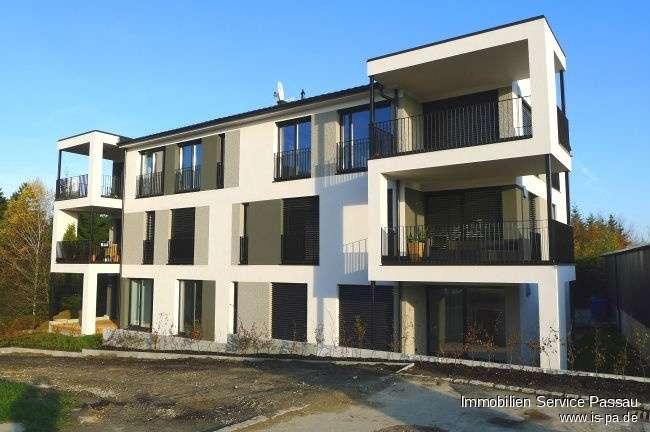 2-Zimmer Neubauwohnung  in ruhiger Lage in Waldkirchen zu vermieten! Mit Garenanteil und Keller!