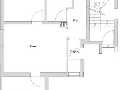 Erstbezug nach Sanierung: Stilvolle 3-Zimmer EG-Wohnung mit EBK auf der Grenze Iserbrook/Schenefeld