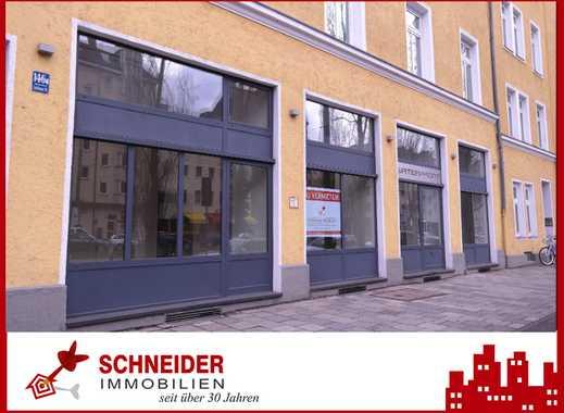 IMMOBILIEN SCHNEIDER - Schwanthalerhöhe - Tolle Einzelhandelsfläche mit großer Lagerhalle