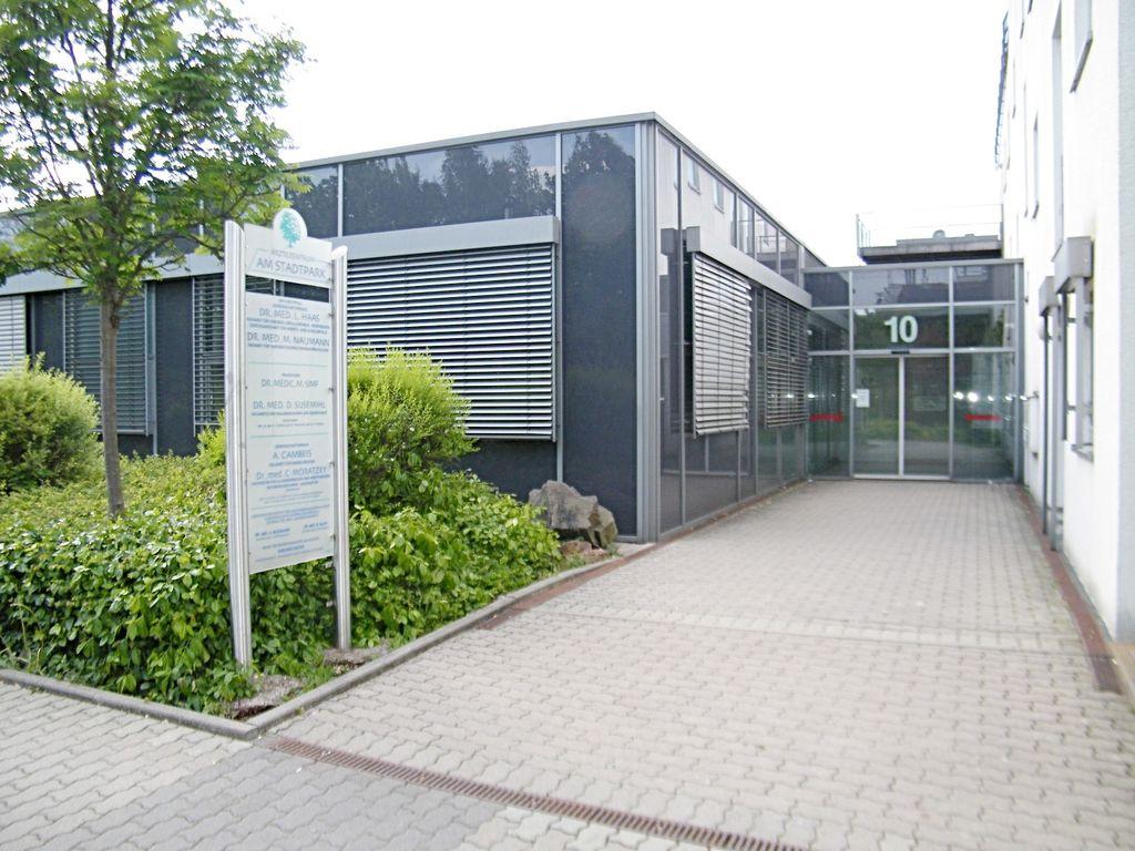 Eingang Ärztehaus