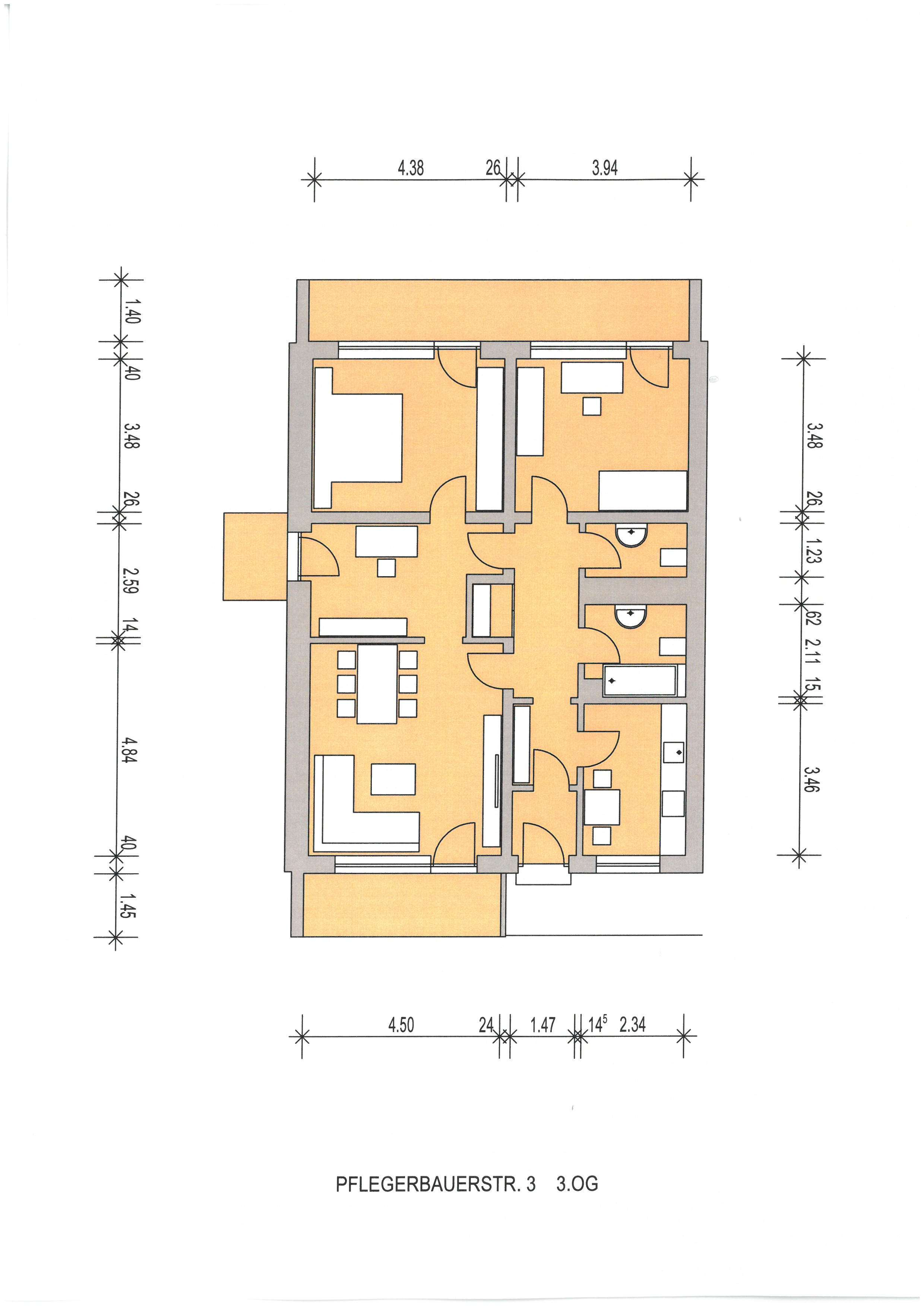 Helle 3,5 Zimmer Wohnung, Nähe St. Emmeram, Englischer Garten in Bogenhausen (München)