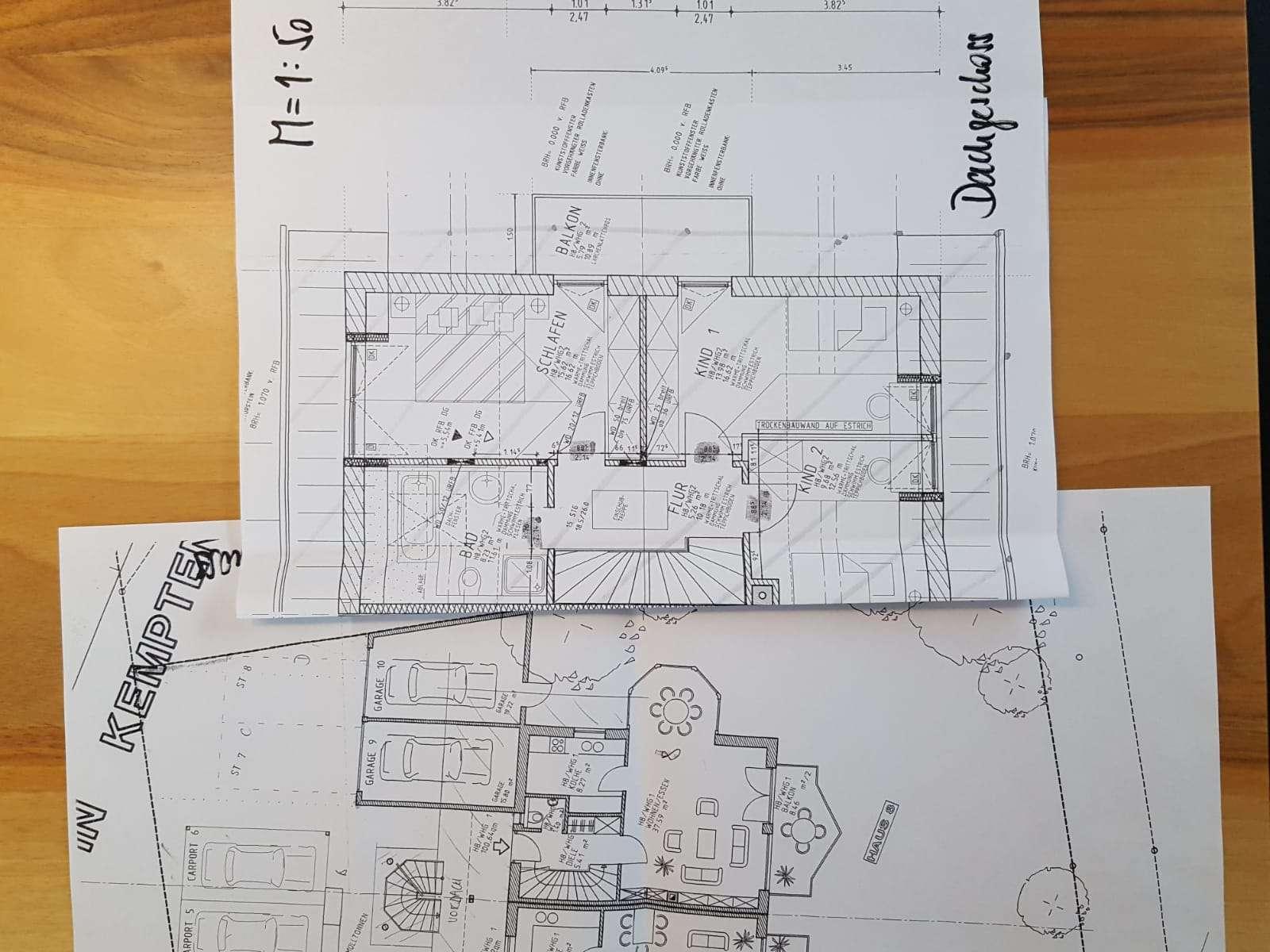 Gepflegte 3-Zimmer-Wohnung mit Balkon und EBK in Kempten (Allgäu) in St. Mang (Kempten (Allgäu))