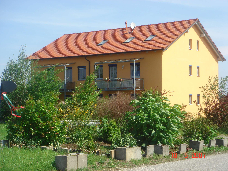 3-Raum-Wohnung mit Balkon und Glasfaseranschluss FTTH in Laberweinting in