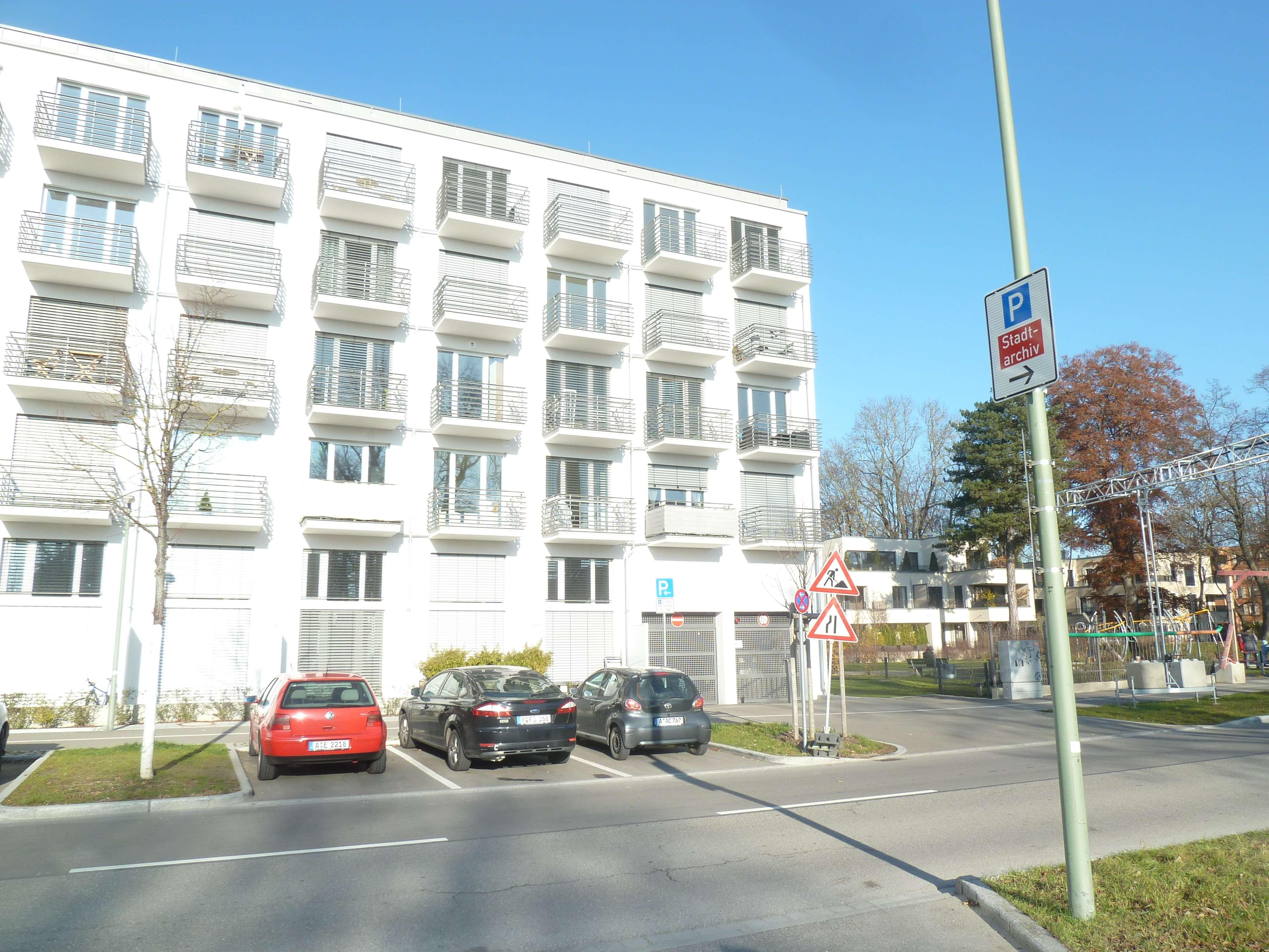 1 Zimmer-Apartement im Studentenwohnheim Studiosus 5 in Augsburg-Innenstadt