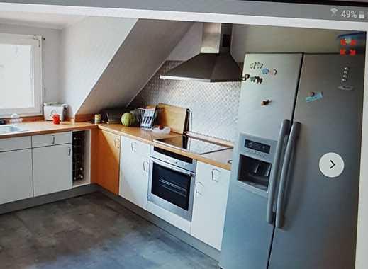 Gepflegte 6-Zimmer-Maisonette-Wohnung mit Balkon in Karlsruhe Durlach-Aue