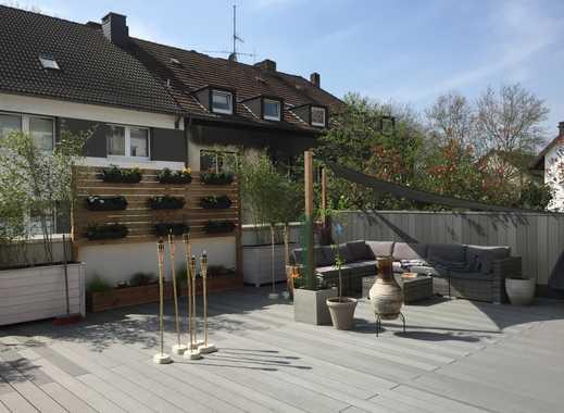Der Traum für Pendler! Dachgarten-Wohnung im Herzen von Essen-Borbeck mit riesiger Dachterrasse !!!