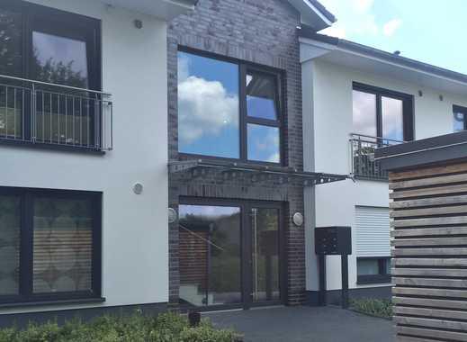 Neuwertige 3 Zimmer Obergeschoss-Wohnung mit großem Balkon