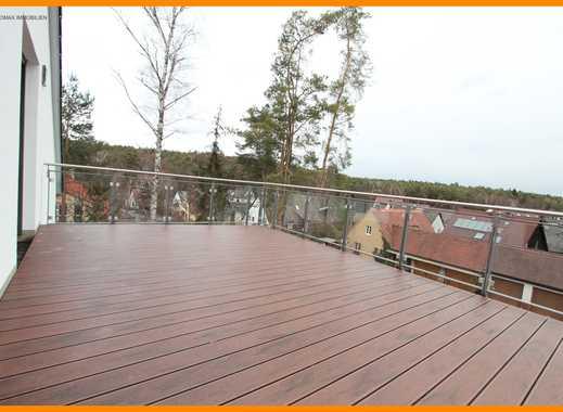 Penthaus-Whg, Ganze Etage nur für Sie allein mit zwei Dachterrassen und tollem Fernblick