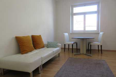 Helle 2-Zimmer Singlewohnung mit Küche und Süd-West Balkon in St. Leonhard (Nürnberg)