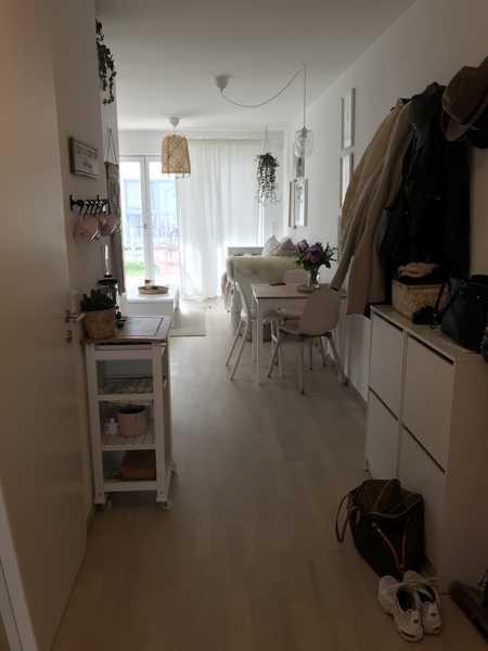 Exklusive, neuwertige 2 Zimmer-EG-Wohnung mit großem Garten in Feldmoching, München in Feldmoching (München)