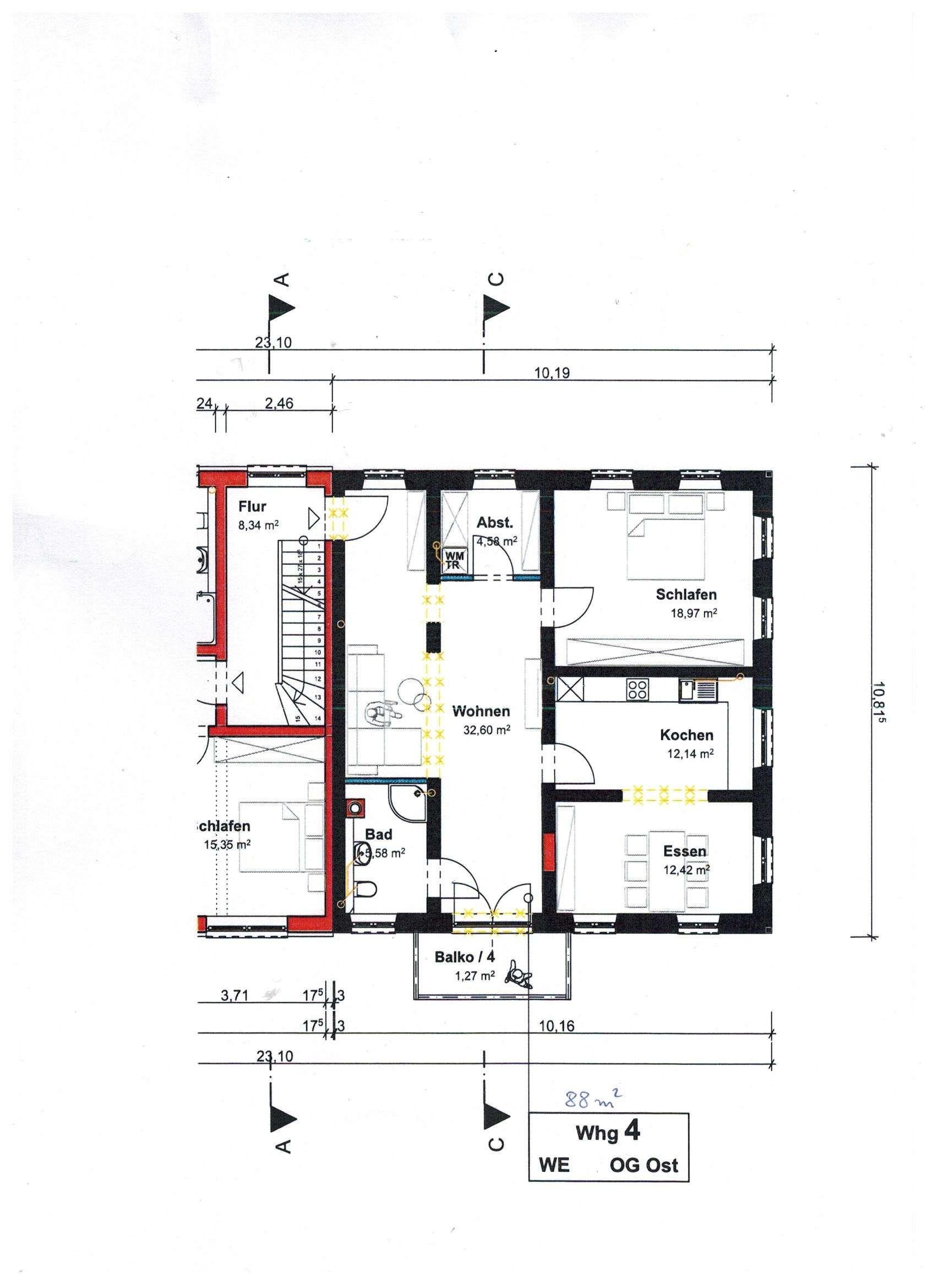 1 Generalsanierte Wohnung zu vermieten in Rott am Inn