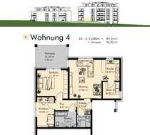 Effiziente schicke Neubauwohnungen mit Aufzug -