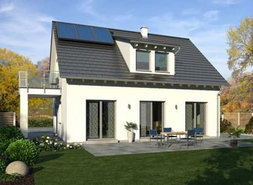 Großzügiges Haus zum Top-Preis! Effizienz 55-Technikfertik inkl. Grundstück im Neubaugebiet!