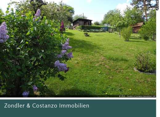 EINZIGARTIG: Wunderschönes Gartengrundstück * Haus Mit Terrasse *  Strom /Wasseranschluss *