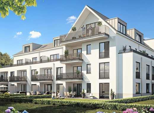 So lässt es sich leben. Helle 2-Zimmer-Wohnung mit Tageslichtbad, Dachterrasse und Balkon