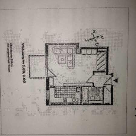 Stilvolle, geräumige und möblierte 1-Zimmer-Wohnung mit Balkon und EBK in Perlach, München in Perlach (München)