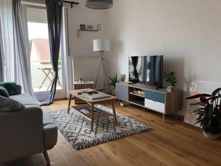 Stillvolle 2,5 Zimmer DG-Wohnung mit EBK und Balkon in Mitte (Ingolstadt)