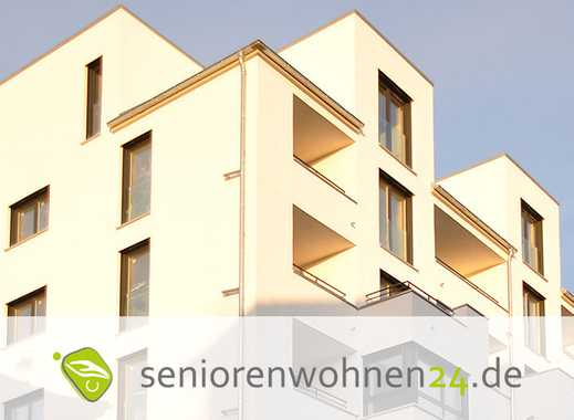 Geräumige Zweiraumwohnung mit Balkon zum Garten ***Seniorenwohnen mit Servicevertrag***