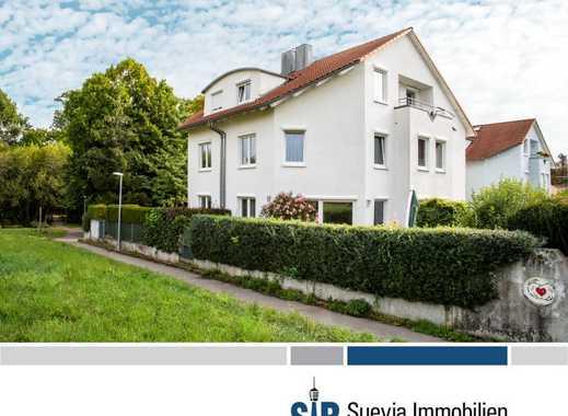 Großzügige Doppelhaushälfte mit sonnigem Garten und 2 TG-Stpl in bester Lage am Ende einer Sackgasse