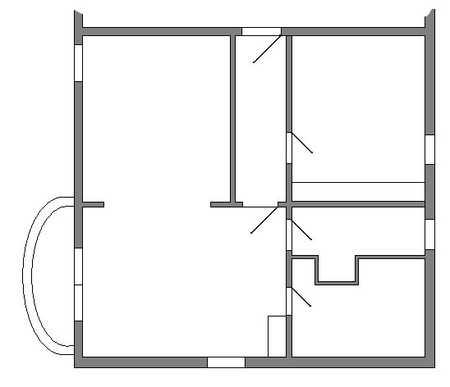 Teilmöbilierte 2-Zimmer Souterrain-Wohnung im Landkreis Ebersberg in Glonn (Ebersberg)