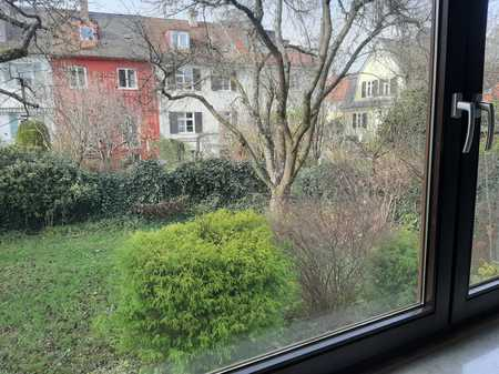Ruhige 2-Zimmer-Wohnung im Hochparterre, Bestlage Pfersee-Süd/Nähe Wertach in Pfersee (Augsburg)