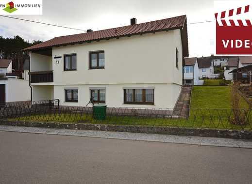 Gepflegtes 1-Familienhaus in herrlicher sonniger und ruhiger Ortsrandlage!