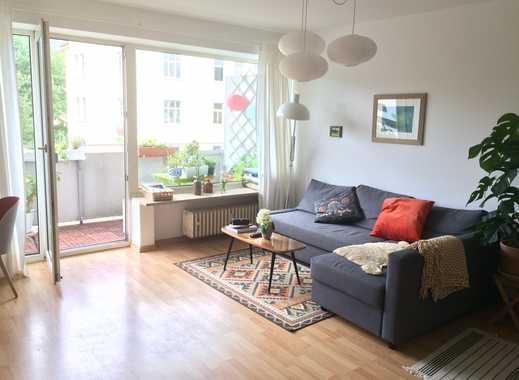 Stilvolle 2-Zimmer-Wohnung mit Balkon und Einbauküche in München - Sendling-Westpark