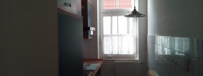 Vollständig renovierte 2-Raum-Wohnung mit Einbauküche. Alt trifft Neu.