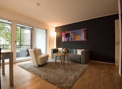 Schöne Zwei-Zimmer-Neubauwohnung mit großem Balkon - Optimal für Berufseinsteiger