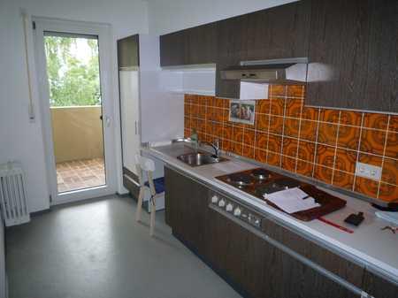 Sanierte 2-Zi-Wohnung mit Balkon und Einbauküche in Augsburg Hochzoll-Nord in Hochzoll (Augsburg)