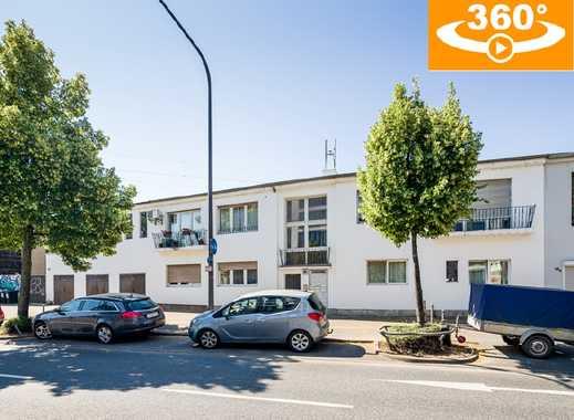 Modernisiert in Sachsenhausen-Nord: 291 m² Wohnfl.   71 m² Gewerbefl.   98 m² Nutzfl.