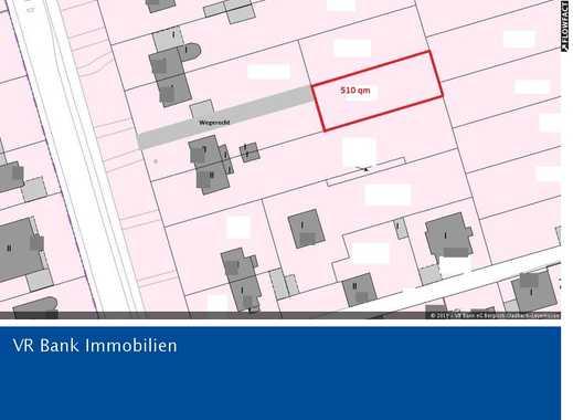 Rath-Heumar; Baugrundstück für eine Doppelhaushälfte in zweiter Reihe