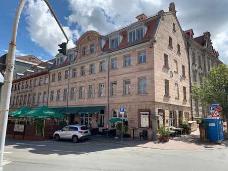 Erstbezug nach Sanierung: exklusive 2-Zimmer-Wohnung mit gehobener Innenausstattung in Fürth in Altstadt, Innenstadt (Fürth)