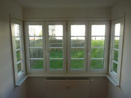 tolle Fensterfront...