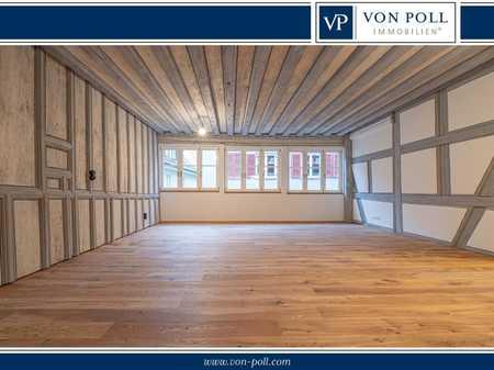 Erstbezug: 3,5-Zimmer-Wohnung mit Balkon in der Nördlinger Altstadt in Nördlingen