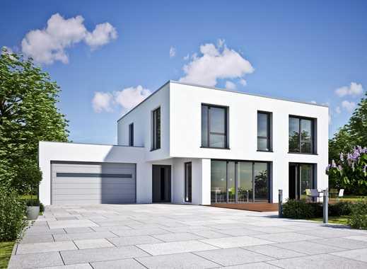 Grillen im eigenen Garten! Exklusives freistehendes Einfamilienhaus mit Baugrundstück (Südlage)!