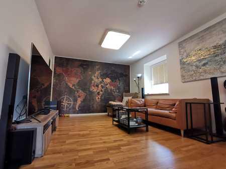 Exklusive 95qm modernisierte 3-Zimmer-Wohnung mit Top Einbauküche in Aubing, München in Aubing (München)