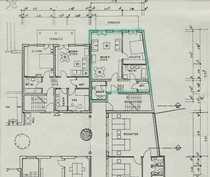 Sanierte Erdgeschosswohnung mit zwei Zimmern