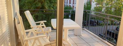 Freundliche 2-Zimmer-Wohnung mit Balkon und Einbauküche in Minden