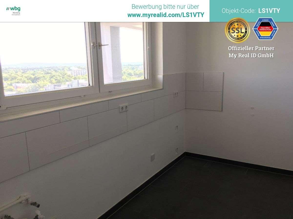 Wohnen mit Weitblick! Renovierte Wohnung mit Balkon in Nürnberg-Langwasser!