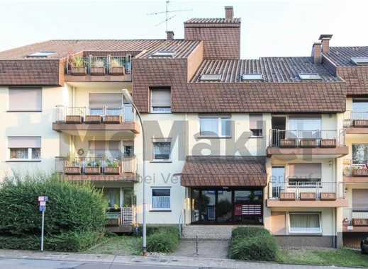 Möbliert zu vermieten! Helle 2-Zimmer-Wohnung mit Loggia in zentrumsnaher Wohnlage von Saarbrücken!