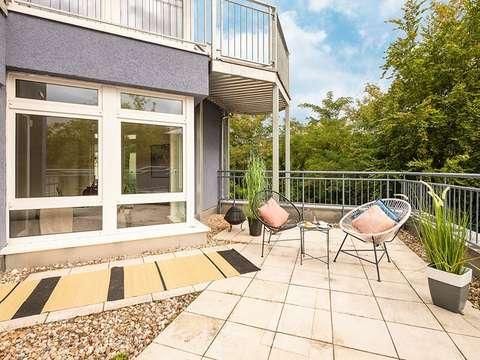 Schöner Wohnen auf 107 qm mit Terrasse!