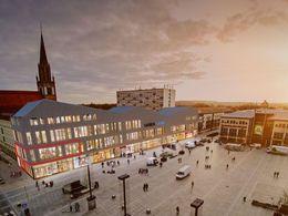 Ansicht Marktplatz Mietfläche