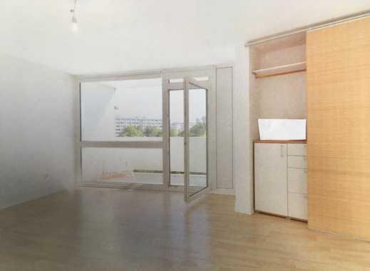 Moderne 1-Zimmer-Wohnung mit Balkon und EBK in Obersendling, München