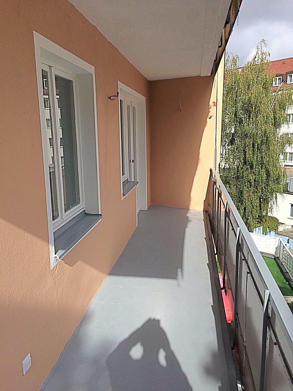 * 3 Zimmer-Wohnung renoviert mit Balkon im 1.OG * in Tafelhof (Nürnberg)