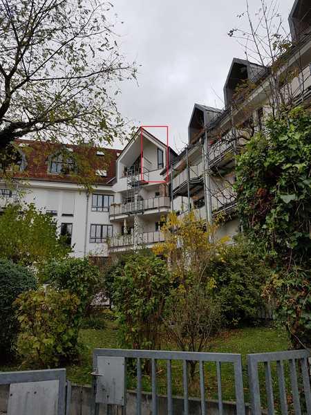 Sehr Schöne 1-1/2-Zimmer-Dachgeschoßwohnung auf 2 Ebenen mit kleiner Dachterrasse nach Süden in Thalkirchen (München)