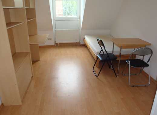 Möblierte 1-Zi.-Wohnung mit Kleinküche, Laminatboden