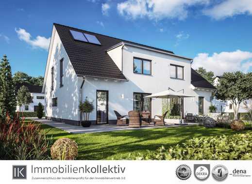 Neubau Energiespar DHH: ca. 140 qm Wohn-/Nutzfläche & Sackgassenlage - inkl. Bauherren-Schutzbrief !