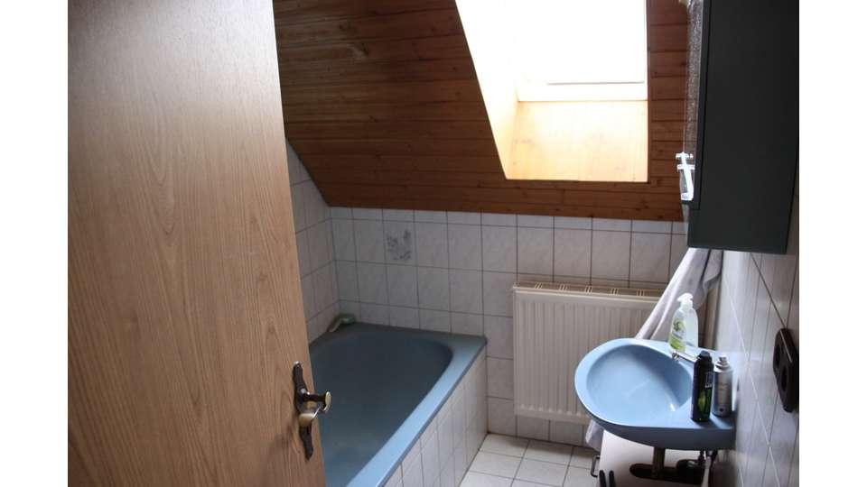 Bad im Dachgeschoss Haupthaus
