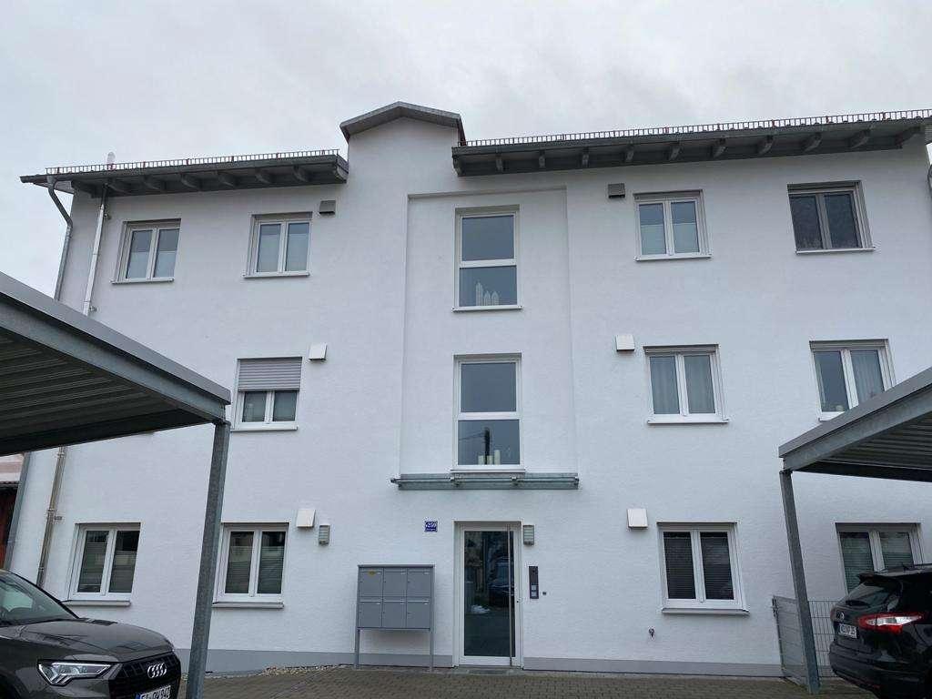 Charmante 2-Zimmer-EG-Wohnung mit großem Gartenanteil im Zentrum von Neuburg an der Donau in
